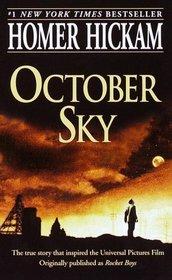 October Sky: A Memoir