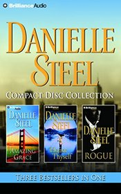Danielle Steel CD Collection: Amazing Grace, Honor Thyself, Rogue