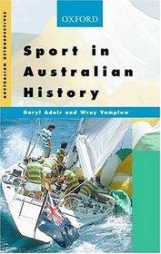 Sport in Australian History (Australian Retrospectives)