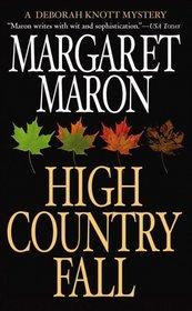 High Country Fall (Judge Deborah Knott, Bk 10)