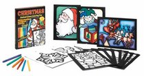 Christmas Stained Glass Coloring Fun (Boxed Sets/Bindups)
