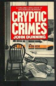 Cryptic Crimes