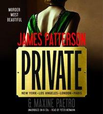 Private (Jack Morgan, Bk 1) (Audio CD) (Unabridged)