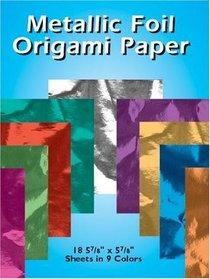 Metallic Foil Origami Paper : 18 5-7/8