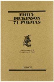 71 Poemas / 71 Poems (Poesia / Poetry) (Spanish Edition)