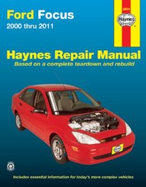 Ford Focus 2000 thru 2011 (Haynes Repair Manual)