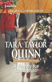 A Family for Christmas (Where Secrets are Safe, Bk 13) (Harlequin Superromance, No 2105) (Larger Print)