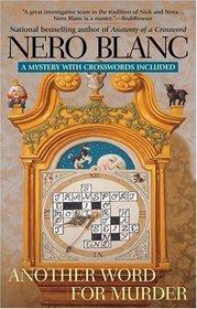Another Word For Murder (Crossword Mysteriy, Bk 8)
