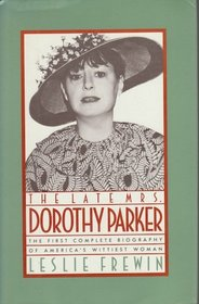 The Late Mrs. Dorothy Parker