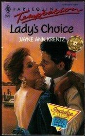 Lady's Choice (Harlequin Temptation, No 270)