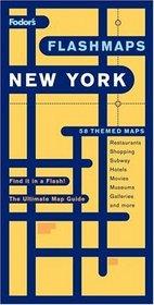 Fodor's Flashmaps New York City, 8th Edition (Flashmaps)