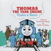 Thomas the Tank Engine Visits a Farm (Bathtime Books)