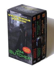 Jim Butcher Boxed Set (The Dresden Files, Books 1-3)