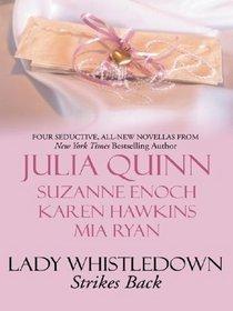 Lady Whistledown Strikes Back (Wheeler Large Print Book Series)