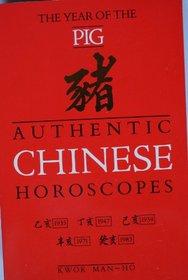 Authentic Chinese Horoscopes