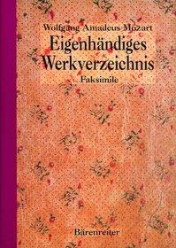 Eigenhandiges Werkverzeichnis (New Mozart Edition)