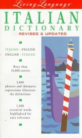 Living Italian, Revised (dictionary) (Living Language)