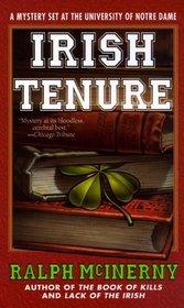 Irish Tenure : A Mystery set at the University of Notre Dame (A Mystery Set at the Univ. of Notre Dame)