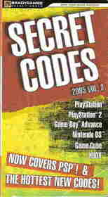Secret Codes 2005, Volume 2 (Official Strategy Guides (Bradygames))