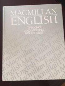 Macmillan English 12: Thinking And Writing Processes
