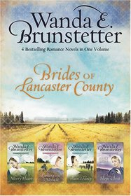 Brides of Lancaster County: A Merry Heart / Looking for a Miracle / Plain and Fancy / The Hope Chest (Brides of Lancaster County, Bks 1-4)