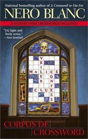 Corpus De Crossword (Crossword Mystery, Bk 6)