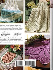 Favorite Throws & Table Toppers to Crochet