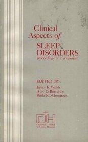Clinical Aspects of Sleep Dis