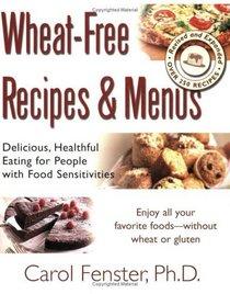 Wheat-Free Recipes and Menus