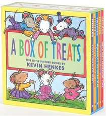 A Box of Treats : Five Little Picture Books about Lilly and Her Friends