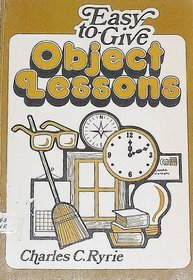 Easy-to-Give Object Lessons