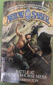 Battle at Thunder Mesa (Arrow and Sabre, Bk 3)