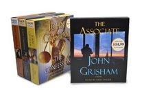 John Grisham CD Audiobook Bundle #2: The Associate; The Confession; The Litigators; The Racketeer