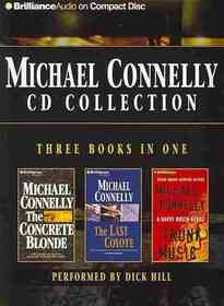 Michael Connelly CD Collection 2: The Concrete Blonde / The Last Coyote / Trunk Music (Harry Bosch, Bks 3,4,5)