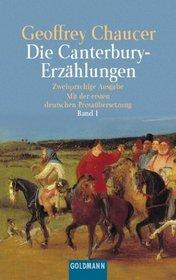 Die Canterbury- Erz�hlungen I. Mittelenglisch und Deutsch.
