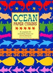 Ocean Paper Chains: A Complete Kit Including 13 Pre-Cut Ocean Stencils