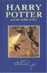 Harry Potter And The Goblet Of Fire (Deluxe UK Collector's Edition, True First Edition! )