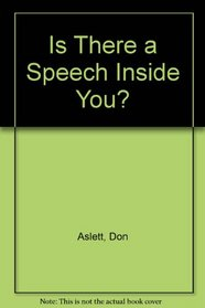 Is There a Speech Inside You?