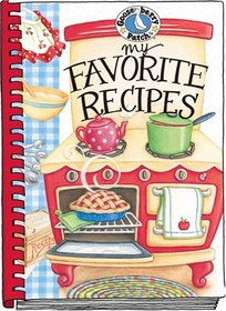 My Favorite Recipes: A Create-Your-Own Cookbook!
