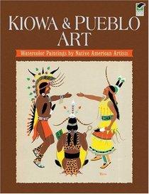 Kiowa and Pueblo Art: Watercolor Paintings by Native American Artists
