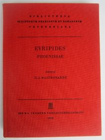 Phoenissae CB (Bibliotheca scriptorum Graecorum et Romanorum Teubneriana) (Greek Edition)