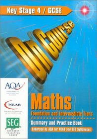 On Course for Gcse Maths Foundation and Intermediate Tiers (On Course)