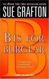 B is for Burglar (Kinsey Millhone, Bk 2)