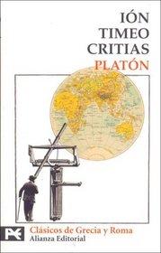 Ion, Timeo, Critias (Biblioteca Tematica / Thematic Library)