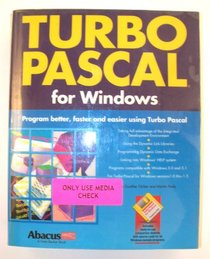 Turbo Pascal for Windows/With Disk