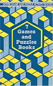 7 Games and Puzzles Books: Mazes, Search-A-Words, Solv-A-Crime Puzzles, Hidden Pictures, Crosswords, Spot-The-Difference Picture Puzzles, Sports Mazes
