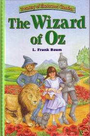 The Wizard of Oz (Treasury of Illistrated Classics)