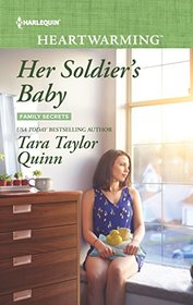 Her Soldier's Baby (Family Secrets, Bk 2) (Harlequin Heartwarming, No 159) (Larger Print)