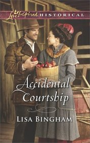 Accidental Courtship (Bachelors of Aspen Valley, Bk 1) (Love Inspired Historical, No 408)
