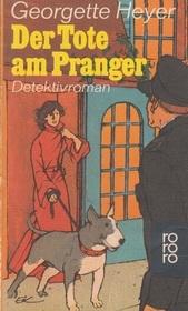 Der Tote am Pranger (Death in the Stocks) (Inspector Hannasyde, Bk 1) (German Edition)